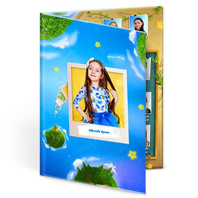 Выпускные альбомы Папка Звездная