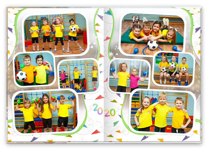 Книга Детский сад Спортзал 2